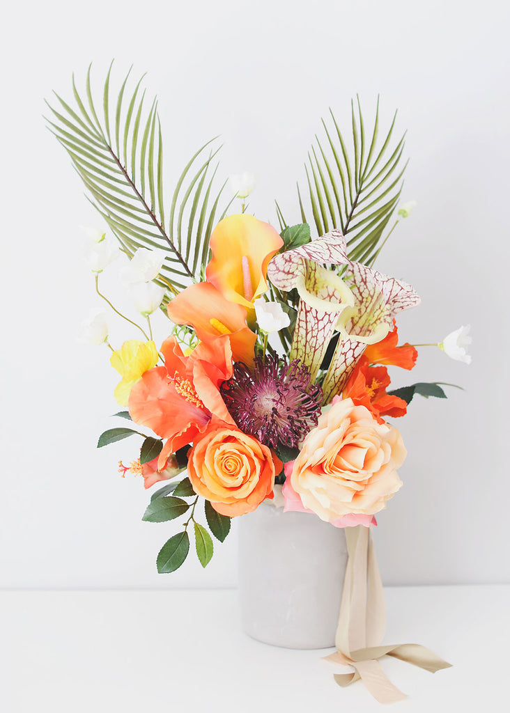 Tropical Artificial Flower Bouquet