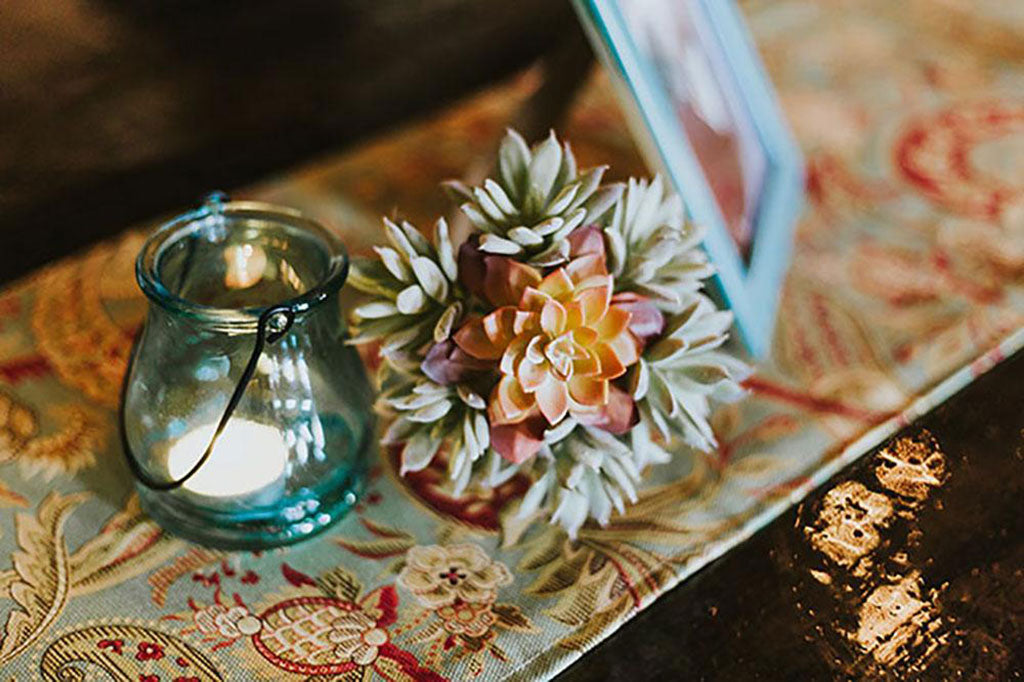 Bohemian Style Wedding with Succulents