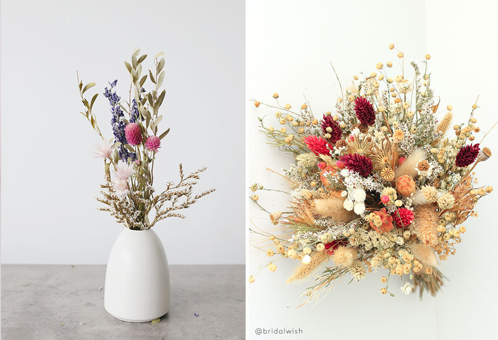How to Create a Dried Flower Arrangement