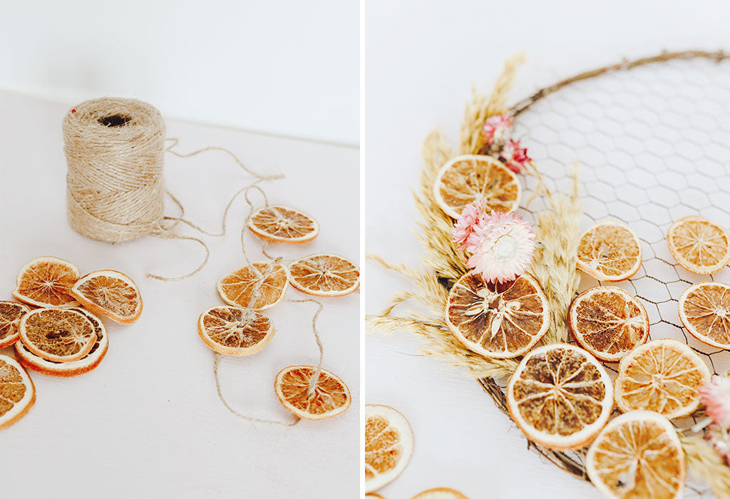 How to Design with Dried Orange Slices