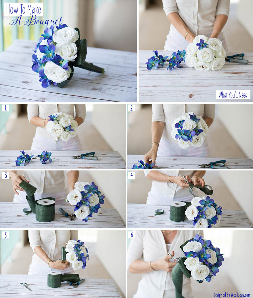 How to Make a Bouquet – Afloral.com