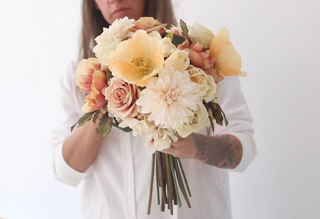 How to Make A Fall Wedding Bouquet