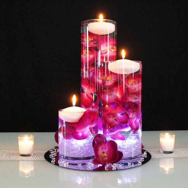 Easy Floating Candle Centerpieces: How To Make A Floating Candle Centerpiece