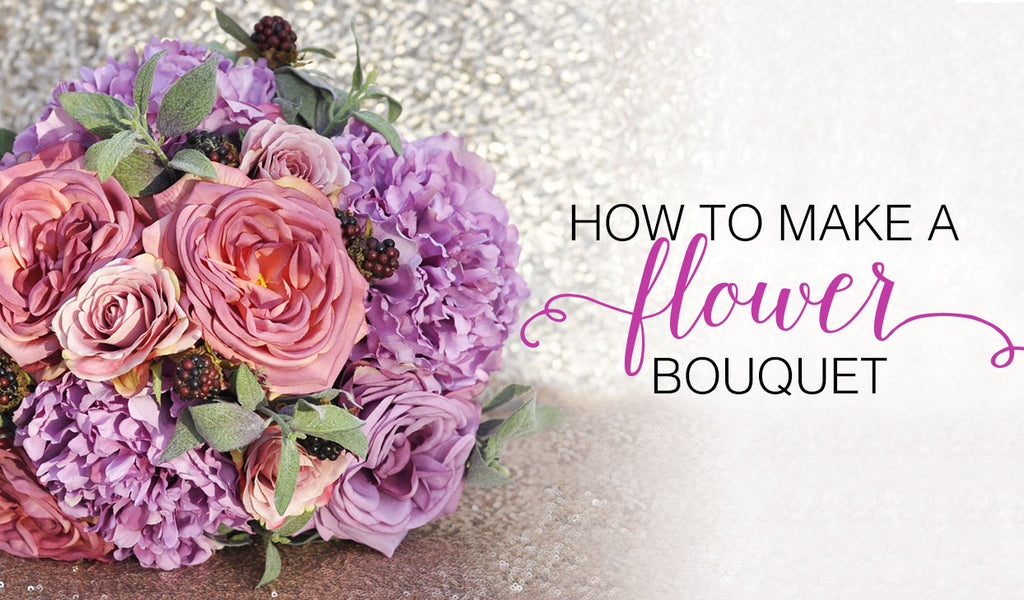How To Make A Flower Bouquet