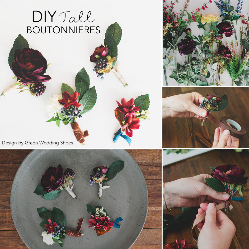 DIY Fall Boutonnieres – Afloral.com