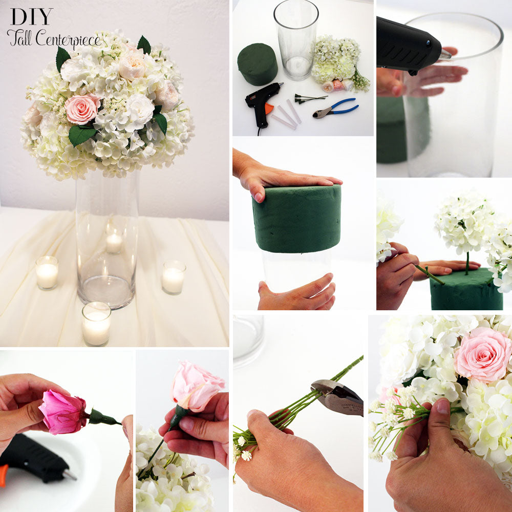 diy tall centerpiece - Diy Centerpieces