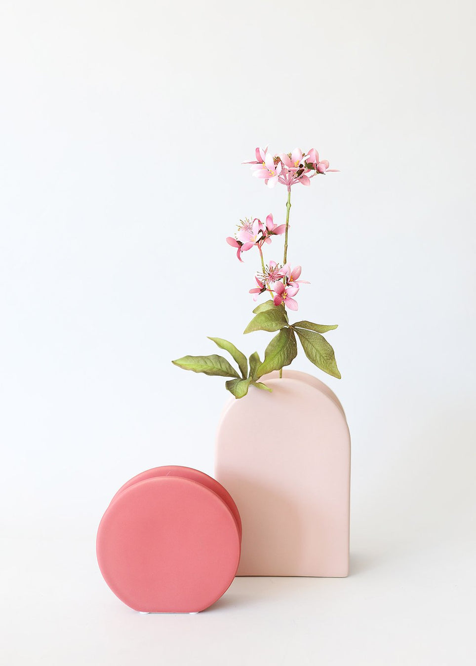 Colorful Ceramic vases for home flower arrangements