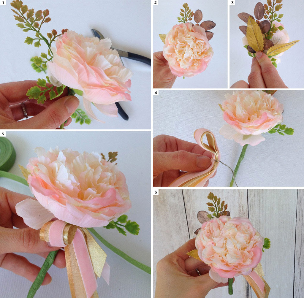 How To Make A Prom Corsage Boutonniere Afloral