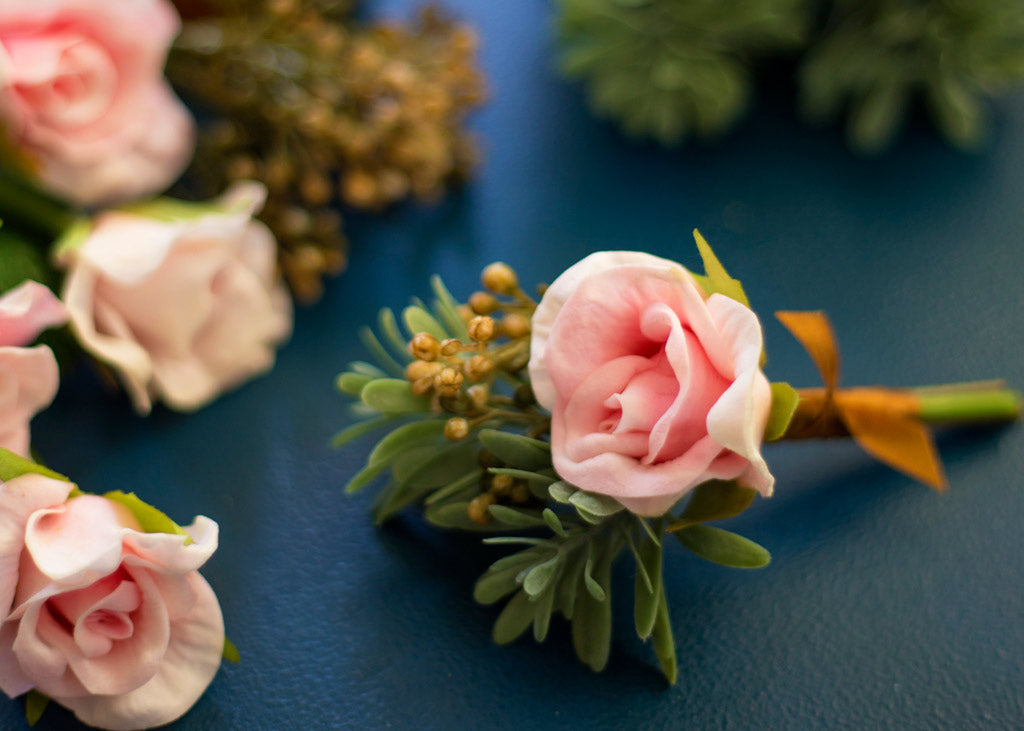 How To Make A Boutonniere Wedding Boutonnieres Afloral
