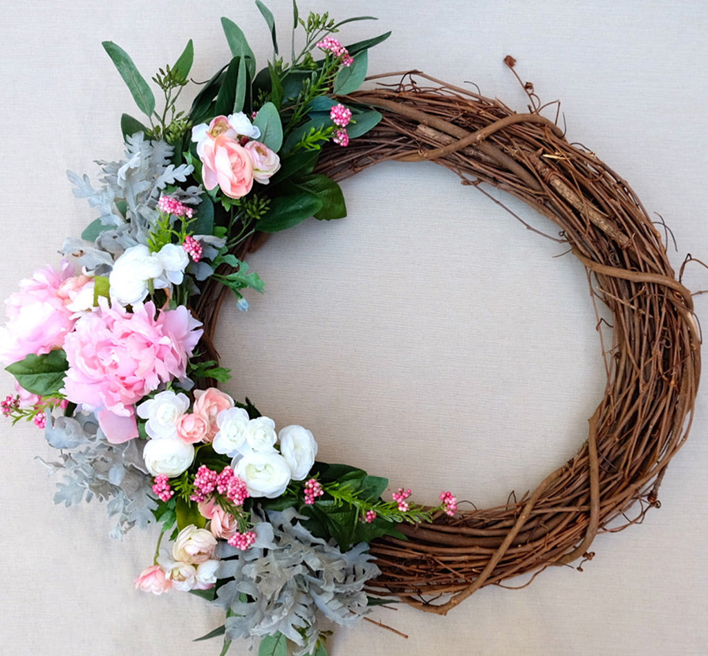 Diy Spring Wreath Afloral
