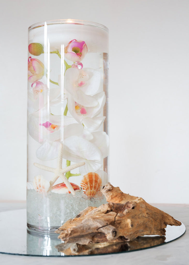 DIY Beach Wedding Centerpiece