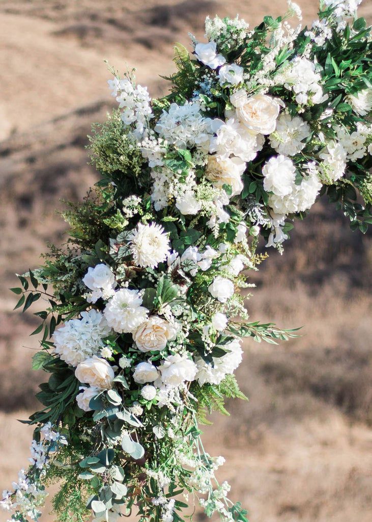 Diy Wedding Arch Floral Ceremony Arch Afloral