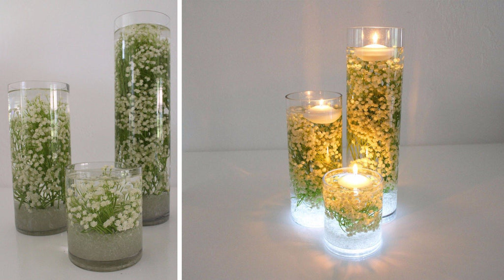 diy baby s breath submersible centerpiece afloral com rh afloral com