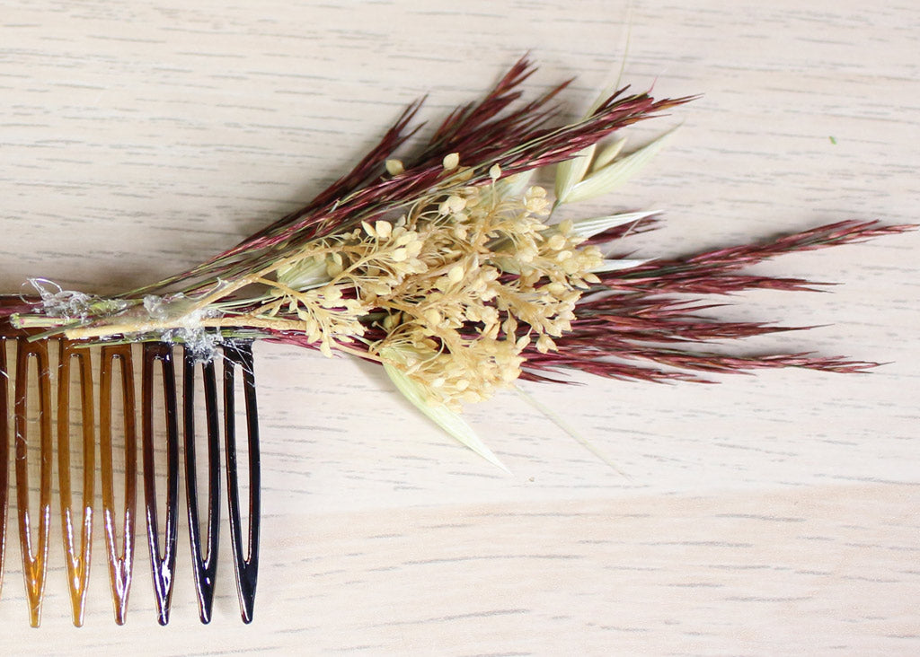 Dried Flower Comb