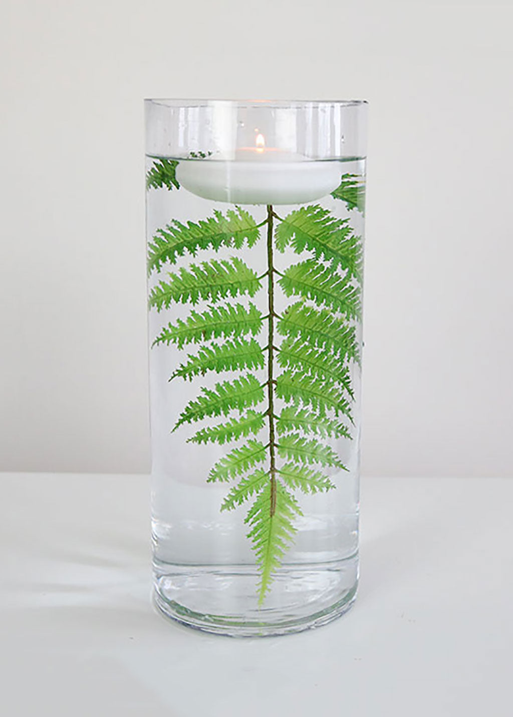 DIY Floating Candle Centerpiece