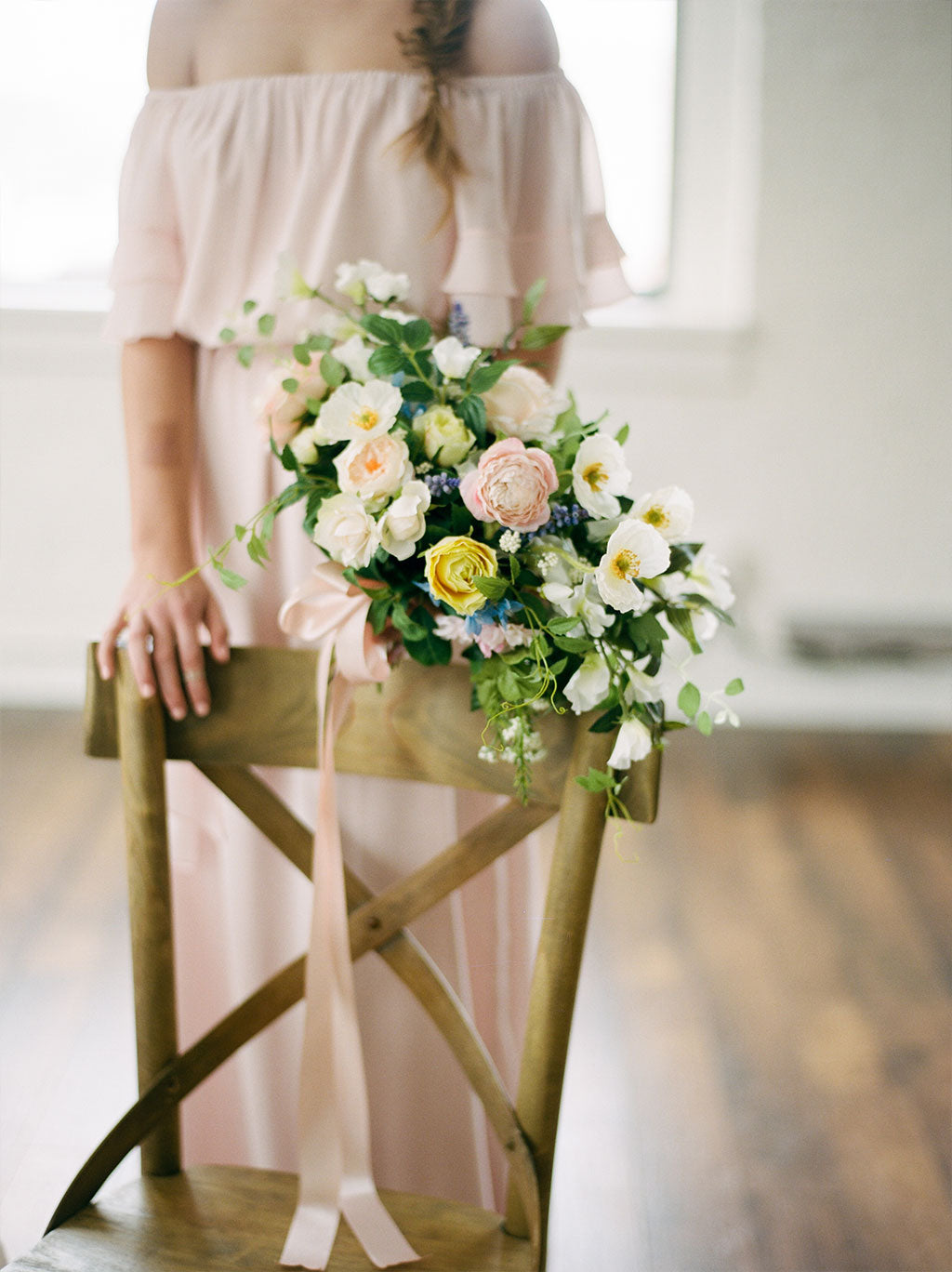 Get The Look Organic Wedding With Artificial Flowers Afloral