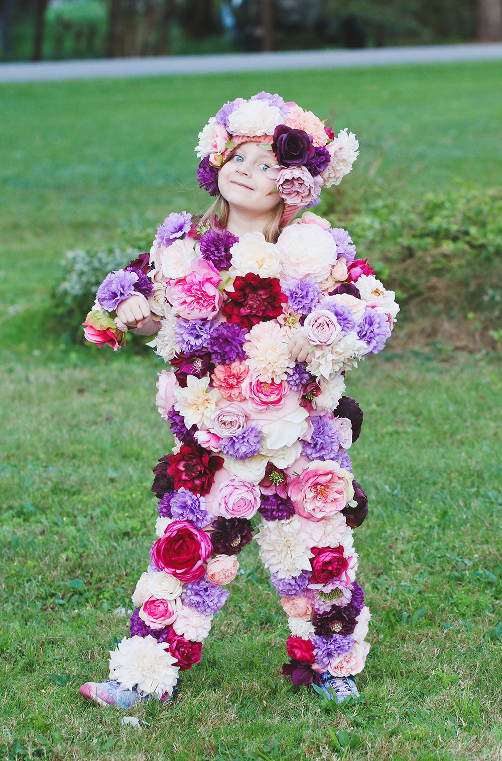 Diy Flower Girl Halloween Costume Afloral