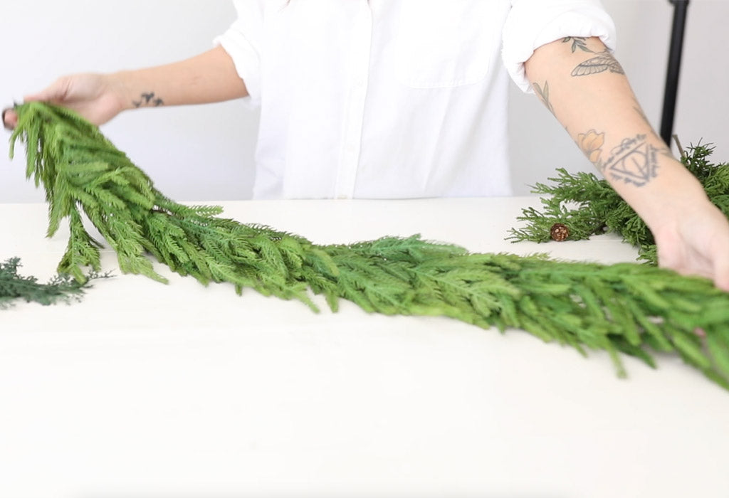 Real Touch Norfolk Pine Garland