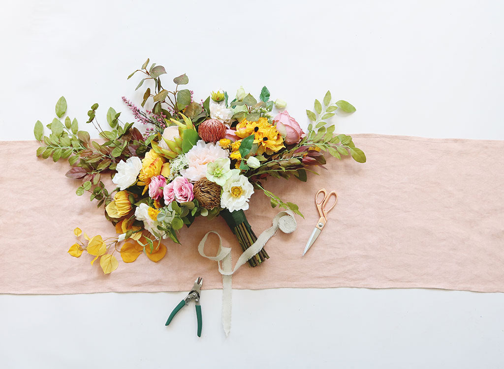 DIY Bouquet Your Own Way