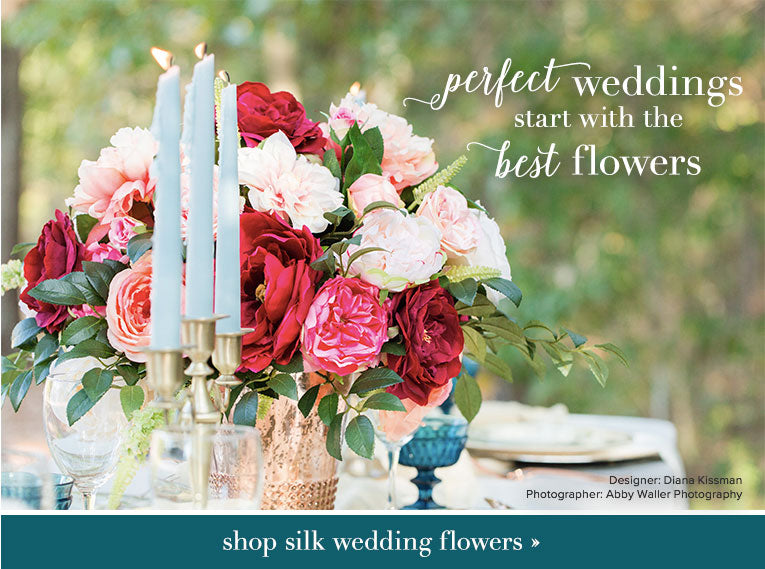 Perfect weddings start with the best flowers