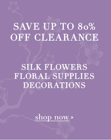 Cheap silk flowers and wedding decorations on sale