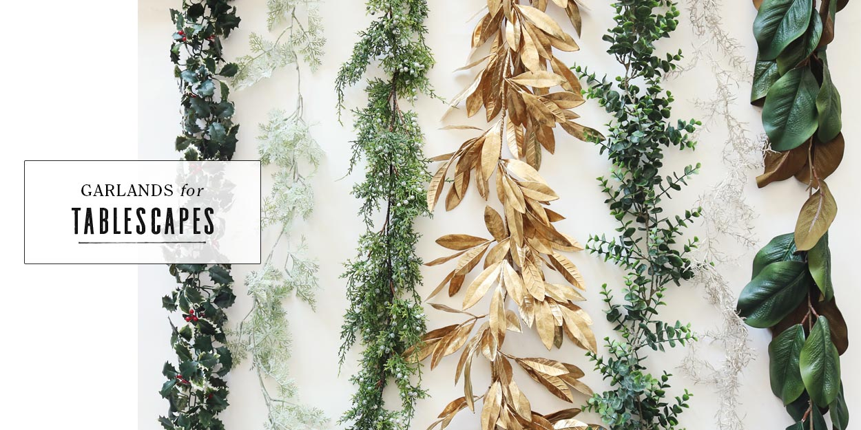 Garlands for Tablescapes