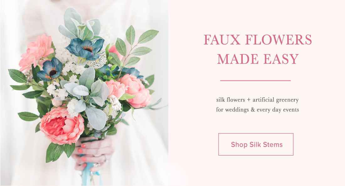 Faux Flowers Made Easy