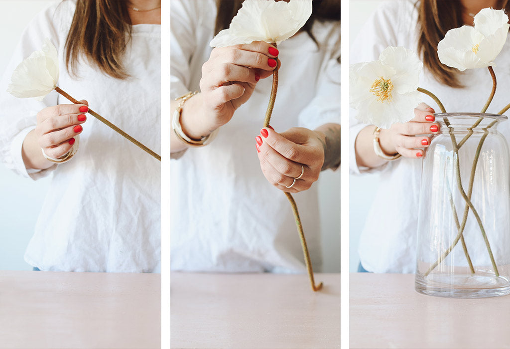 How to Bend Artificial Flower Stems