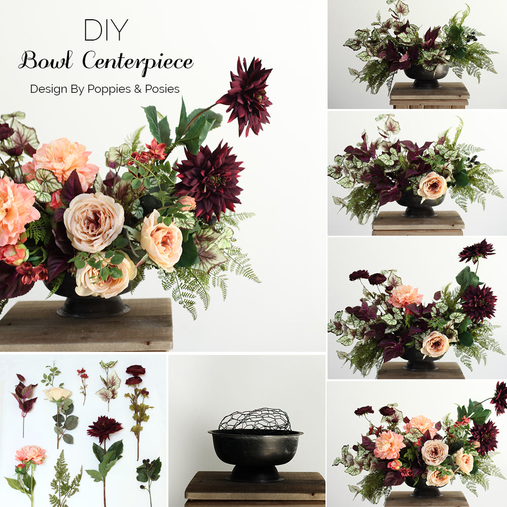 DIY Bowl Centerpiece - Afloral.com