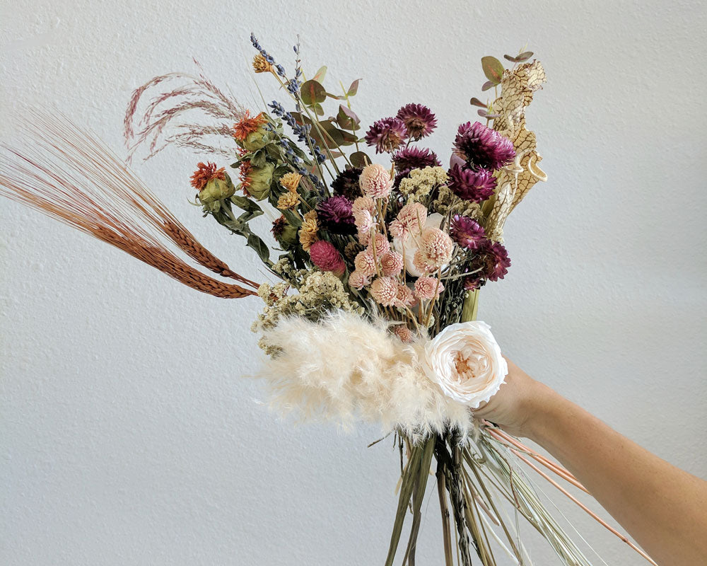 Diy dried flower bouquet afloral preserved flower bouquet izmirmasajfo