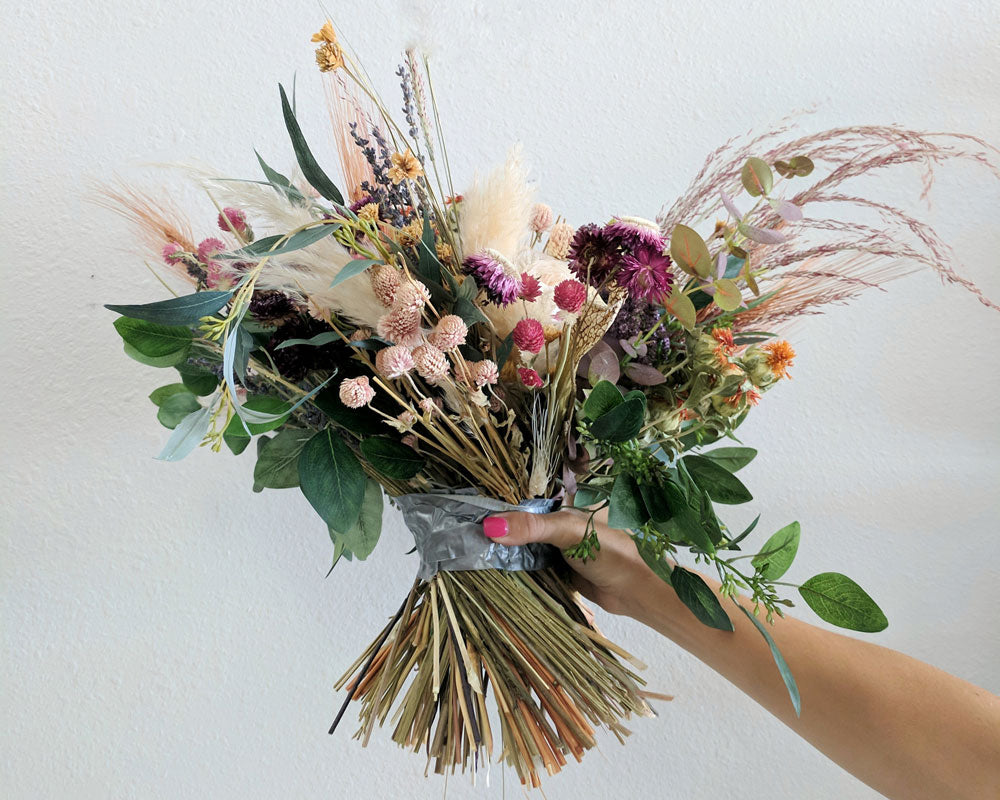 preserved flower bouquet