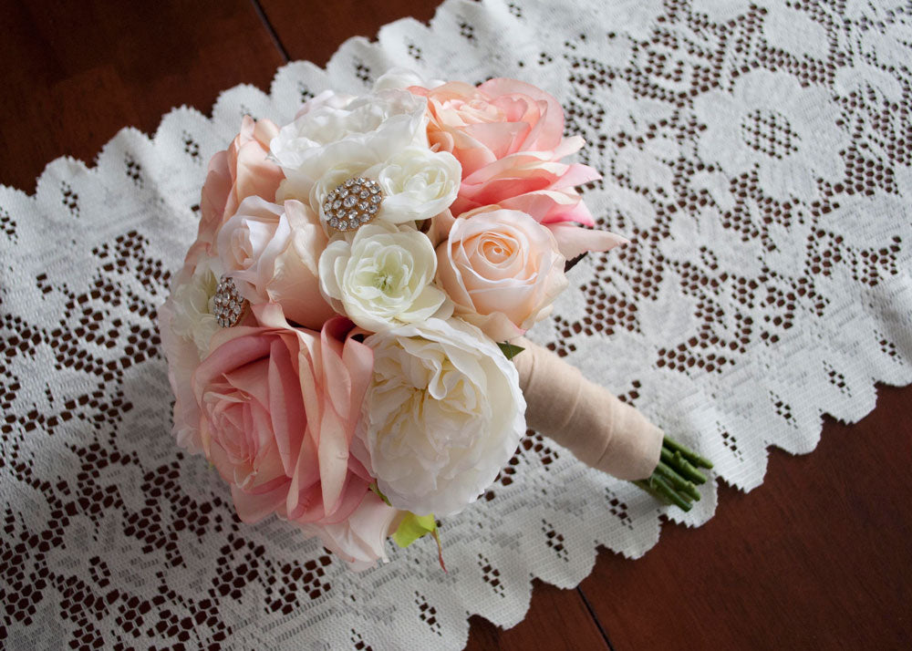 Romantic Rose Bridal Bouquet
