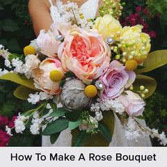 How To Make A Rose Bouquet