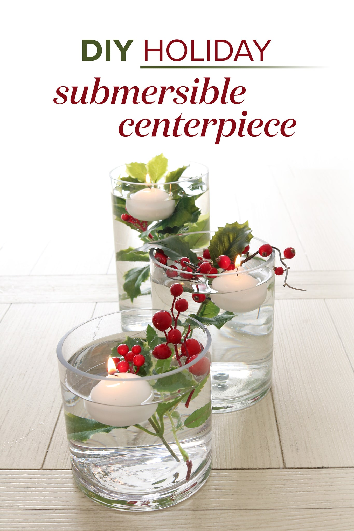 DIY Holiday Submersible