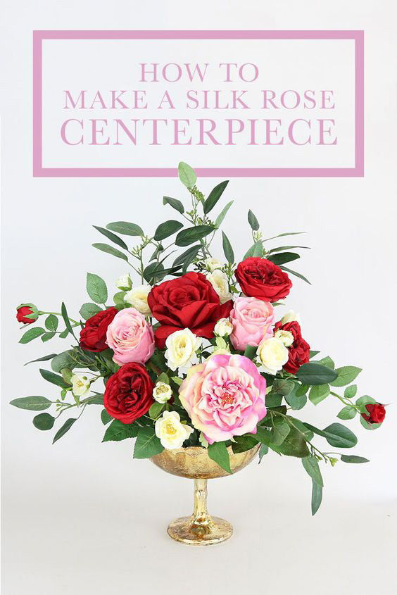 How To Make A Rose Centerpiece