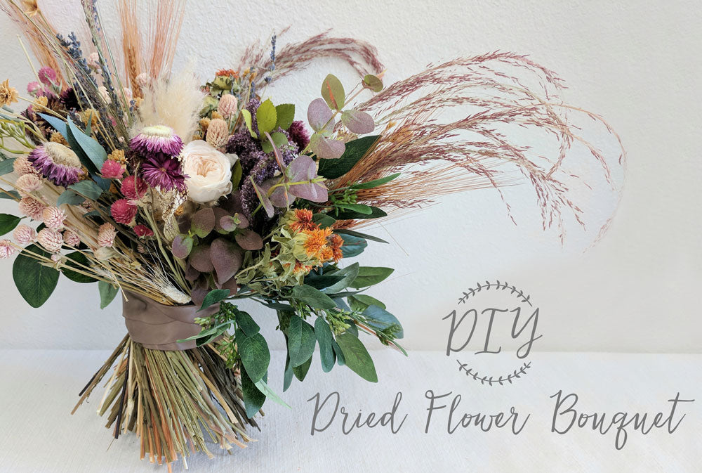DIY Dried Flower Bouquet | Preserved Flower Bouquet – Afloral.com