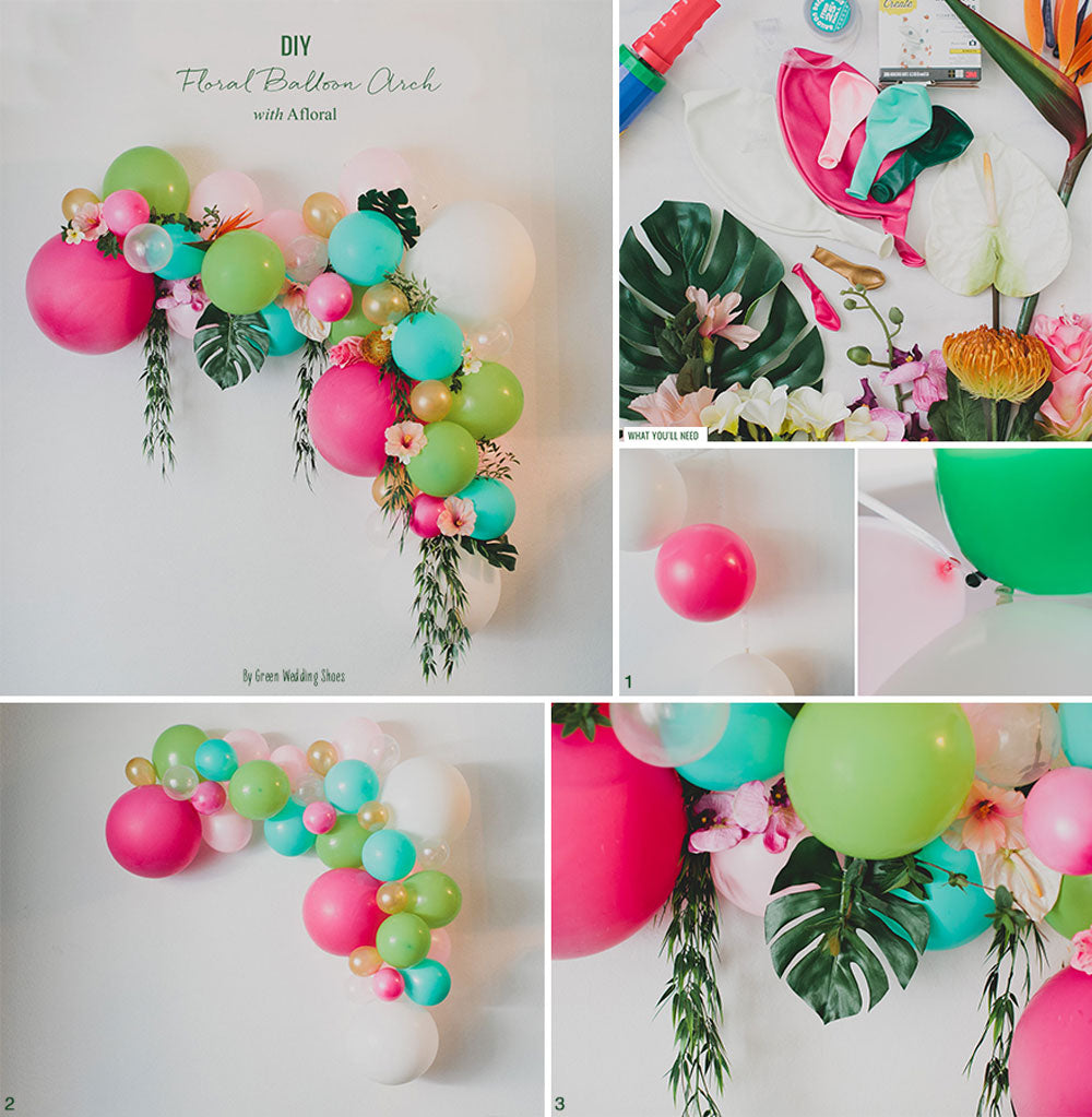 Tropical Balloon DIY