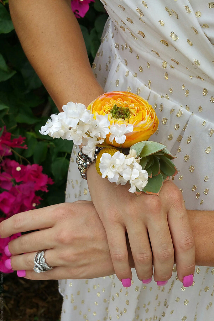 How To Make A Wrist Corsage