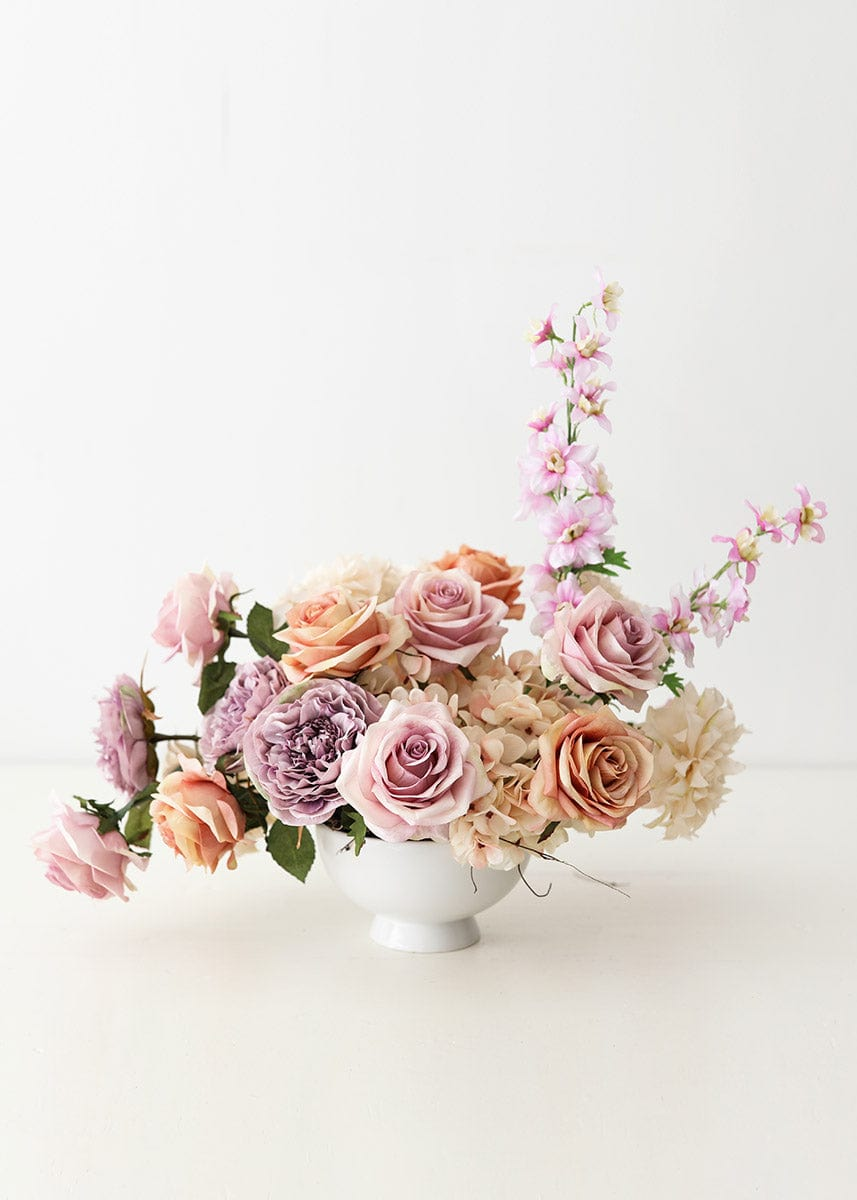 Red Velvet Poinsettias Ginger Jar