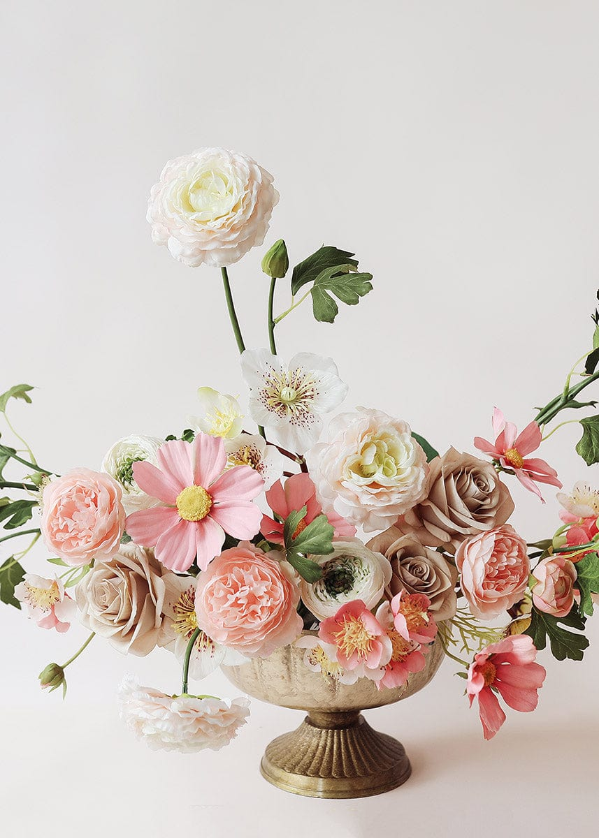 Pink Flower Arrangement with Ranunculus