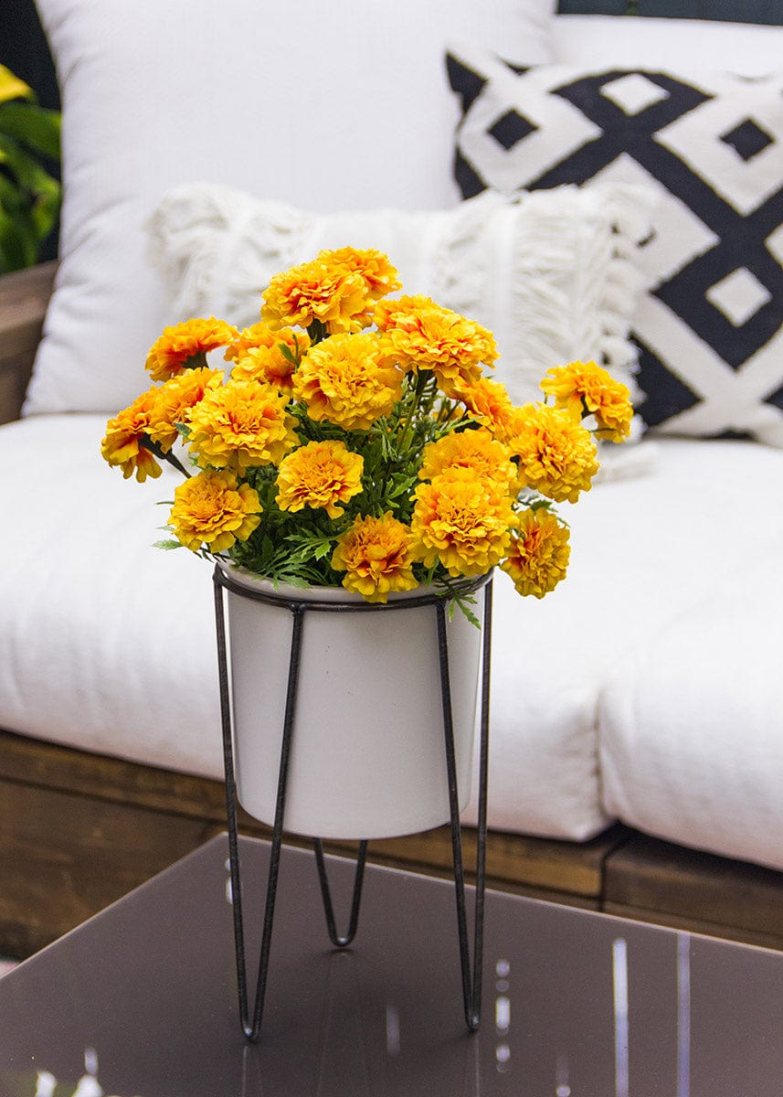 Artificial Marigold Bush  - 13