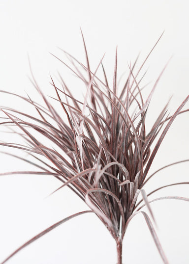 Faux Grasses Bush in Purple