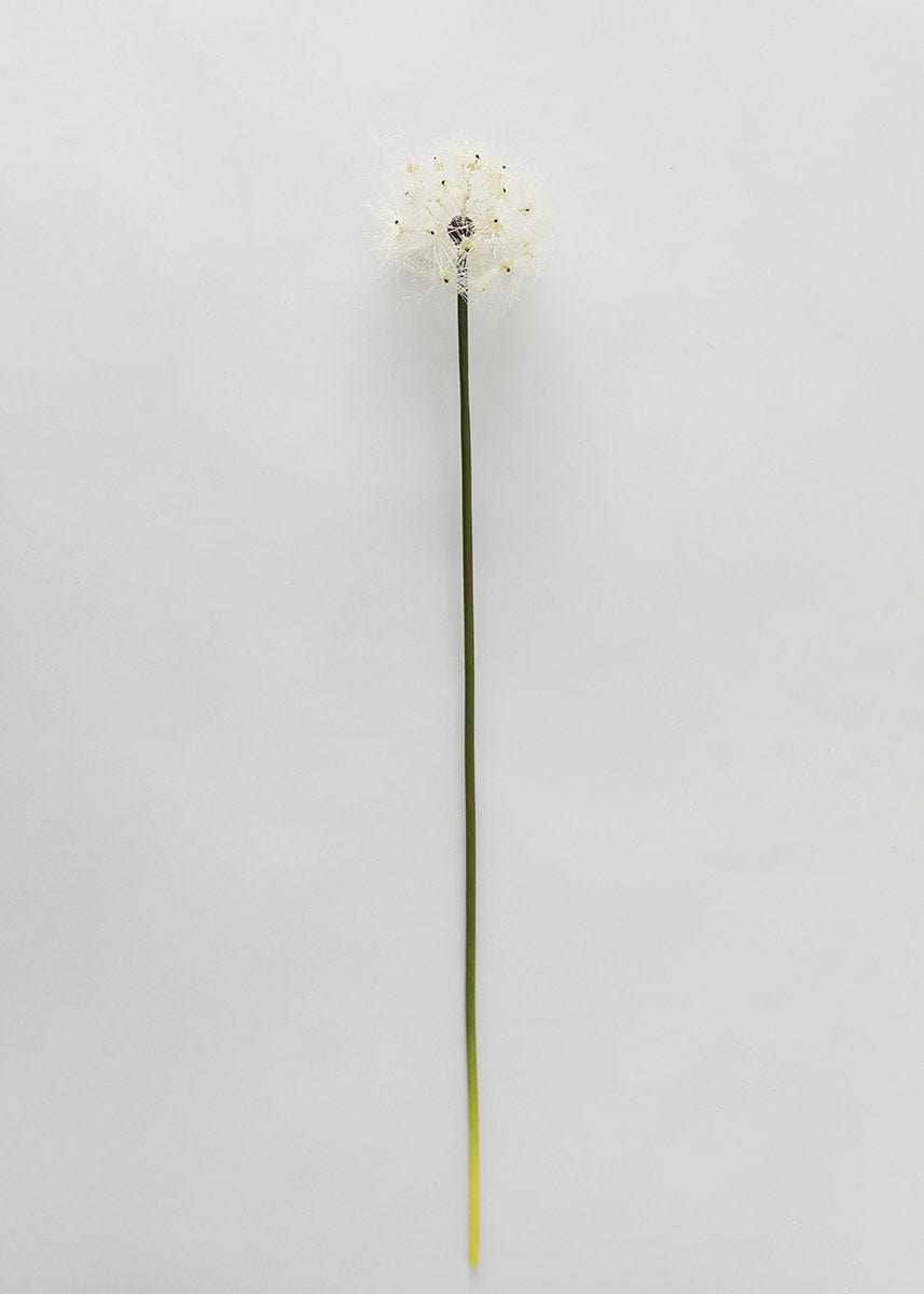 "Artificial Flower Dandelion Seed Head - 4"" Bloom"