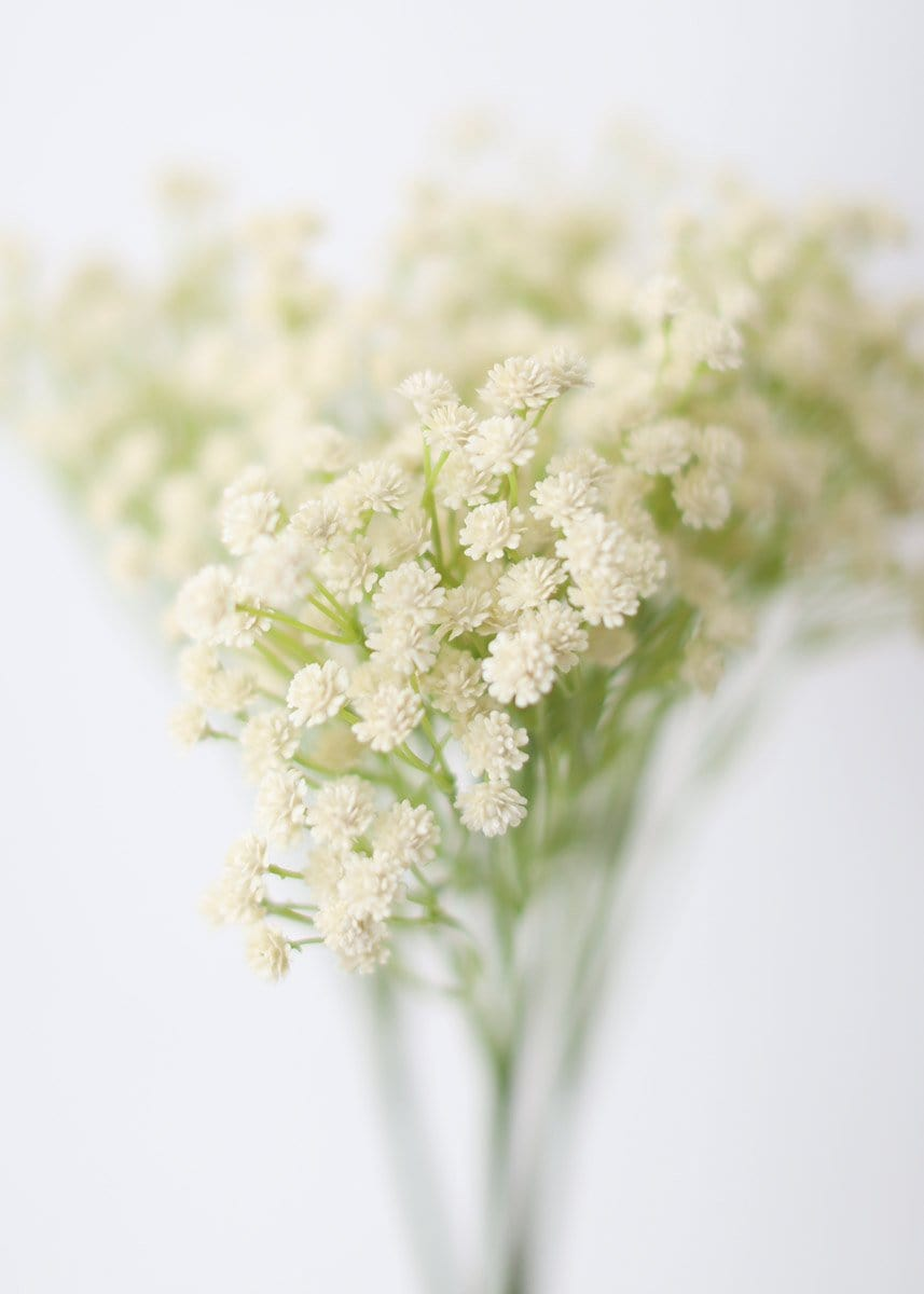 Ivory Faux Baby's Breath Filler