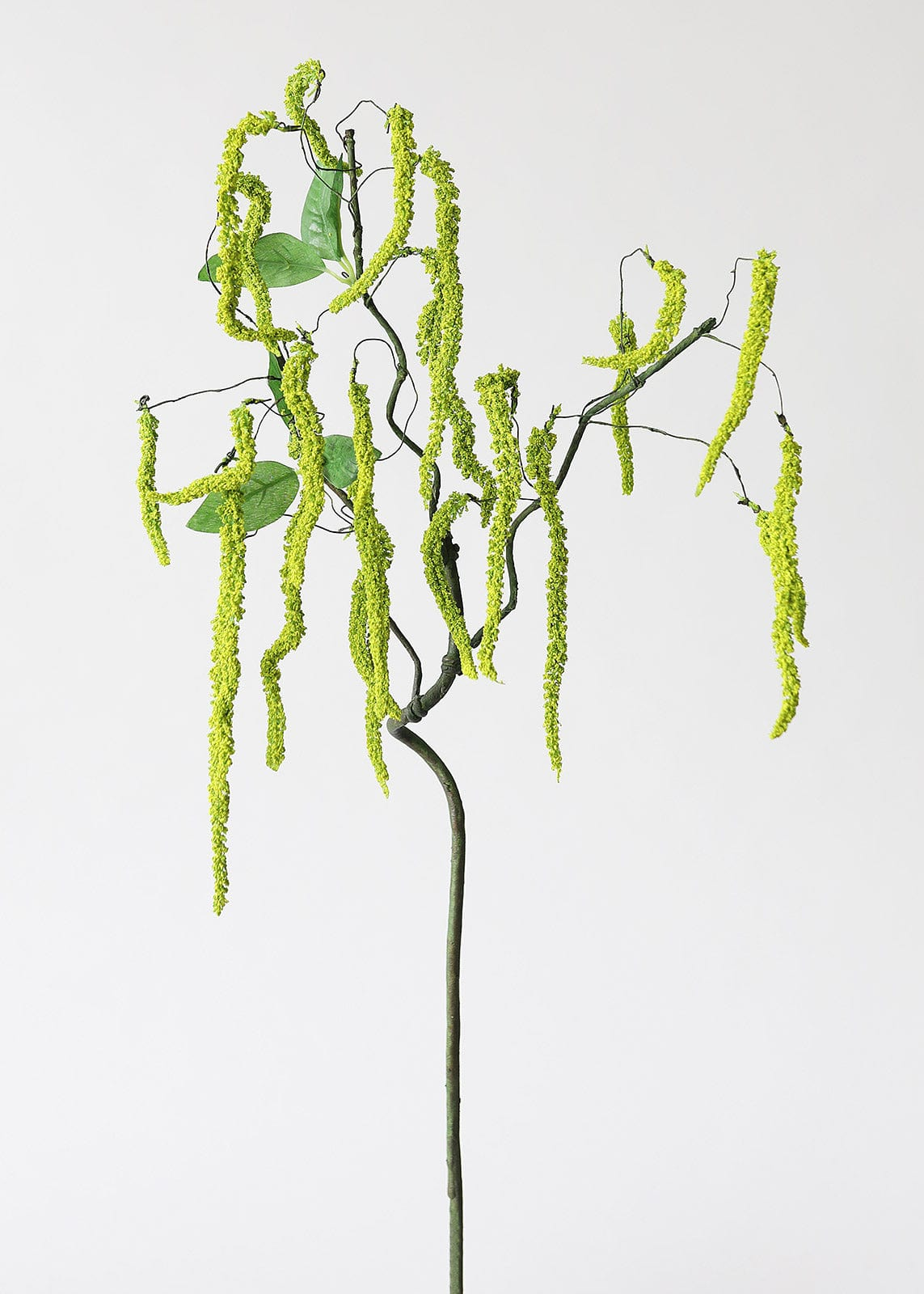 Artificial Flowers Green Amaranthus Hanging Branch