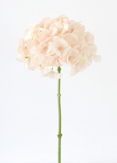 Oversized Artificial Flowers Large Hydrangea in Blush