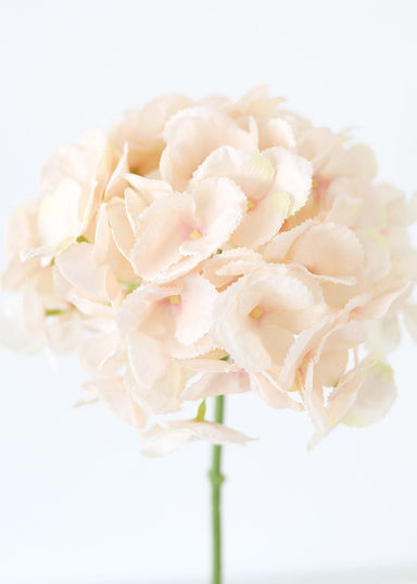 Soft Blush Pink Fake Hydrangea