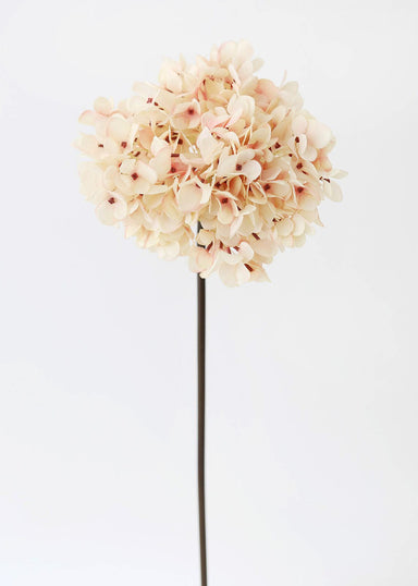 Artificial Hydrangea in Blush Pink