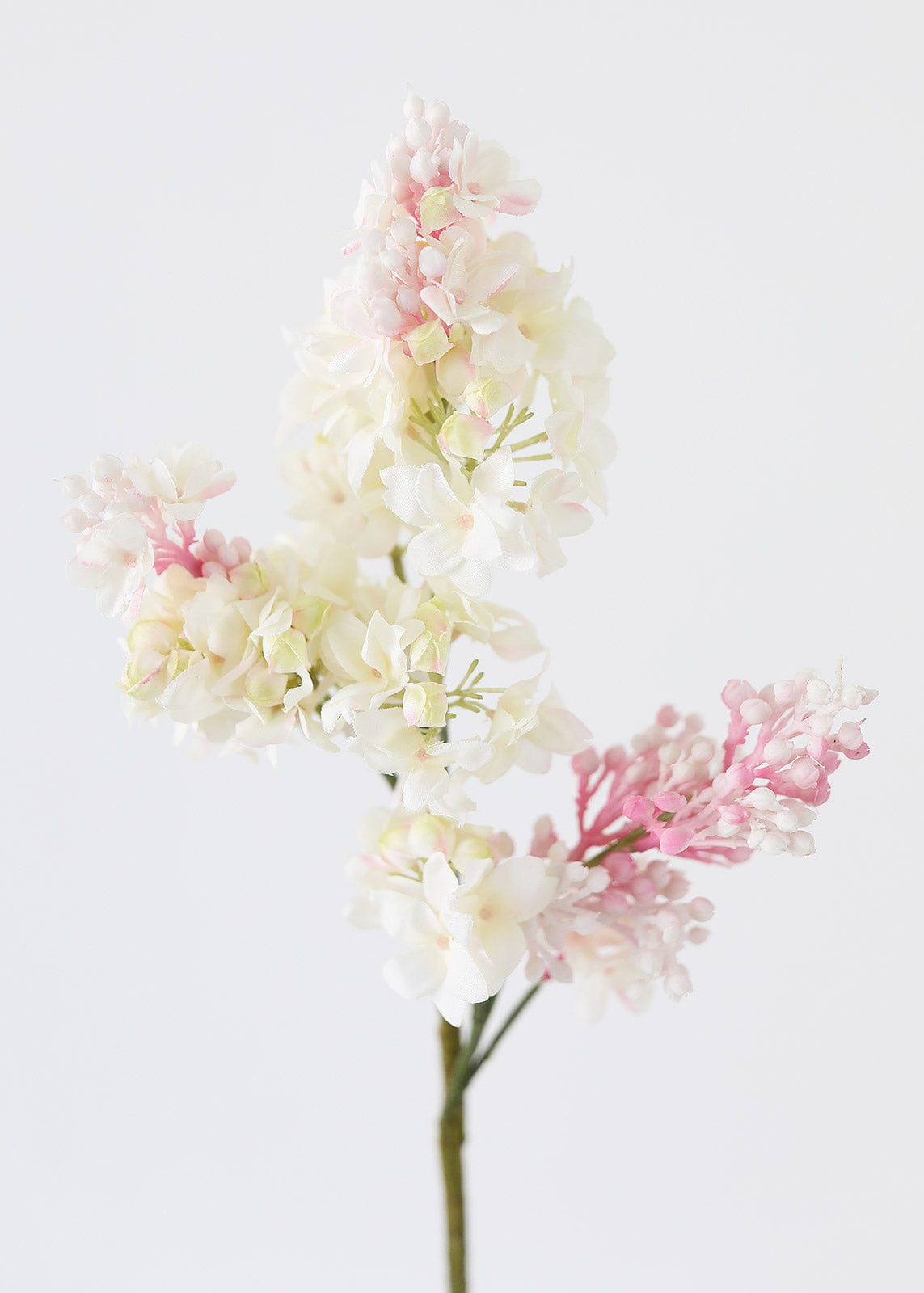Fake Lilac Flower in Pink Cream