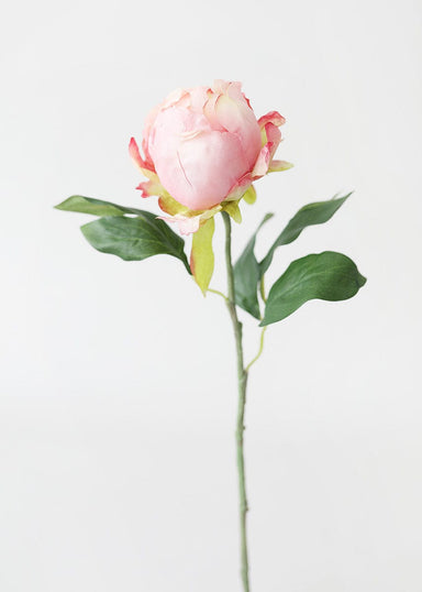 Soft Pink Artificial Peony Bud